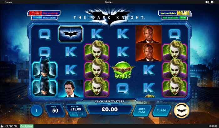 The Dark Knight by All Online Pokies