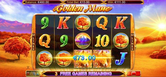 All Online Pokies image of Golden Mane