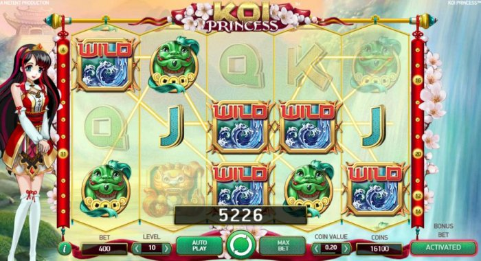 All Online Pokies image of Koi Princess