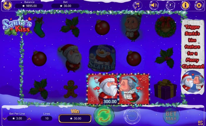 Santa's Kiss screenshot