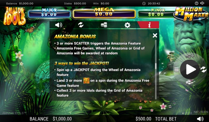Feature Rules by All Online Pokies
