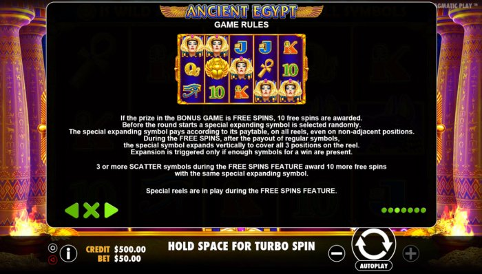 All Online Pokies image of Ancient Egypt