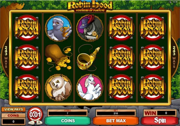 Robin Hood Feathers of Fortune by All Online Pokies