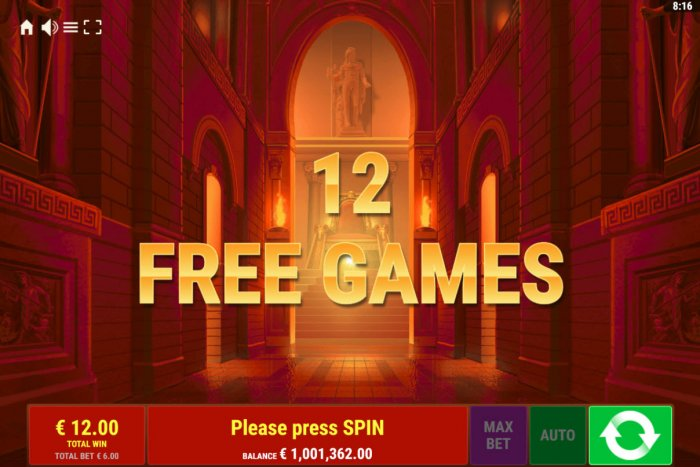 12 Free Games Awarded - All Online Pokies