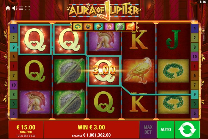 Aura of Jupiter by All Online Pokies