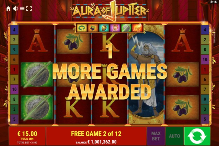 All Online Pokies - 1 more game awarded
