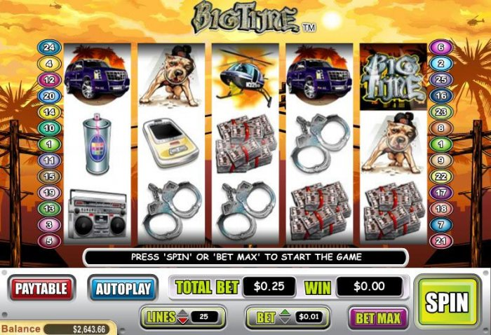 Big Time by All Online Pokies
