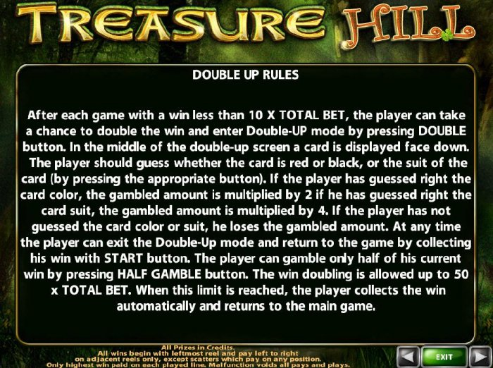Treasure Hill screenshot