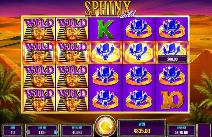 Sphinx Wild by All Online Pokies