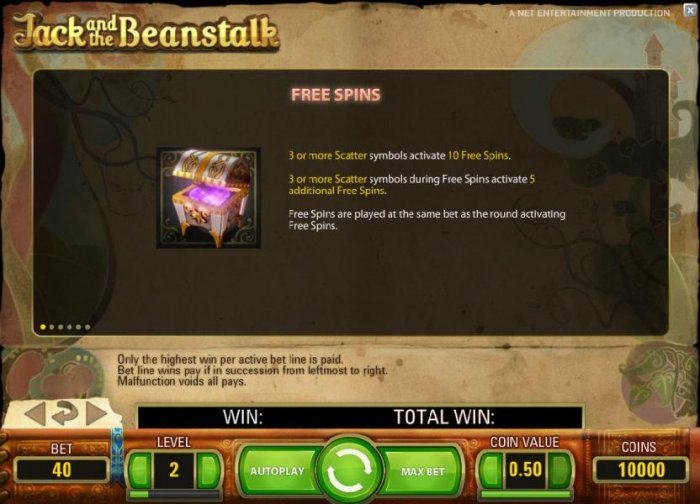 Jack and the Beanstalk by All Online Pokies