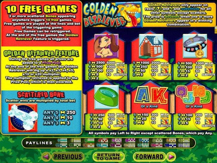 Golden Retriever screenshot