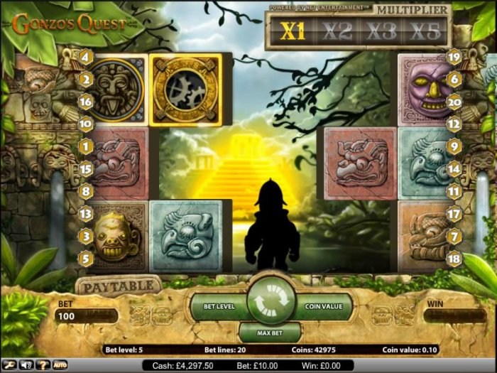 Gonzo's Quest by All Online Pokies