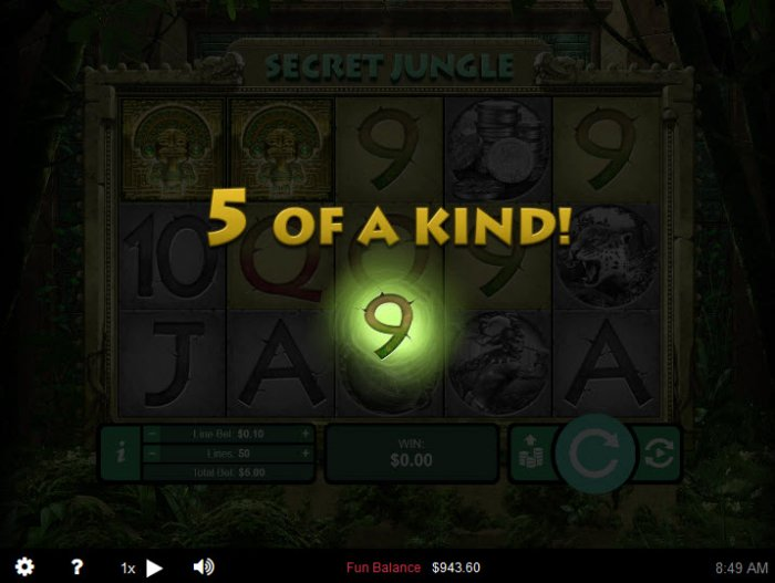 All Online Pokies image of Secret Jungle