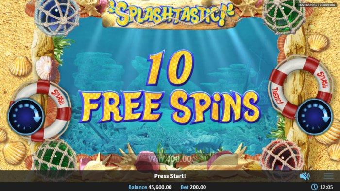 Splashtastic screenshot