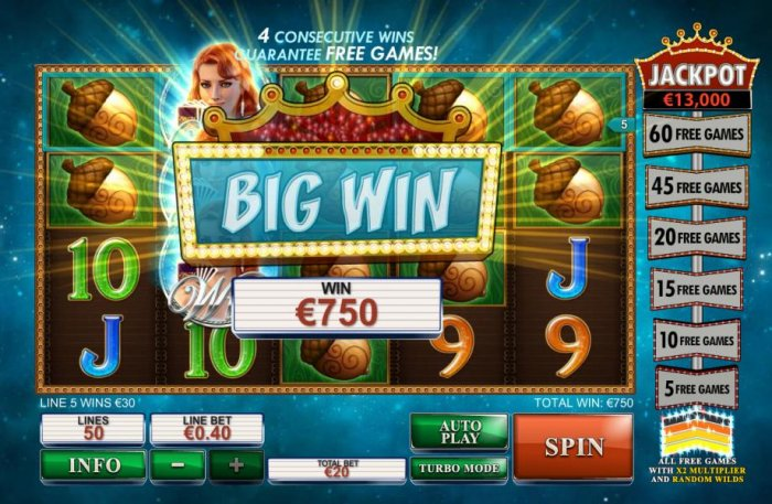Streak of Luck by All Online Pokies