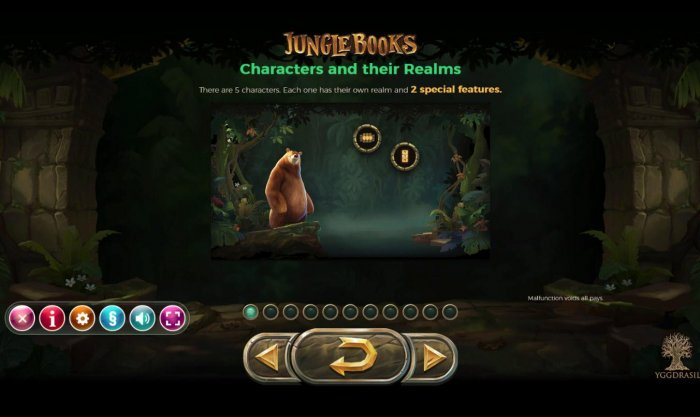 All Online Pokies image of Jungle Books