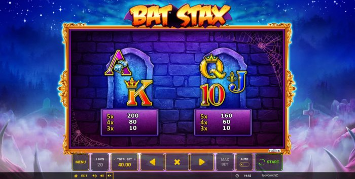Bat Stax by All Online Pokies