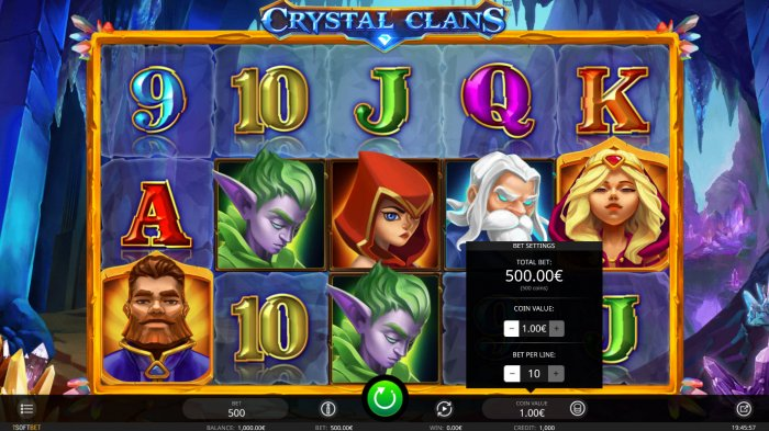 Crystal Clans by All Online Pokies
