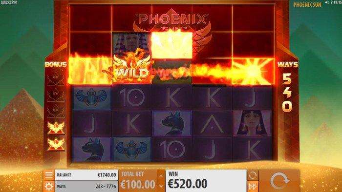 All Online Pokies image of Phoenix Sun