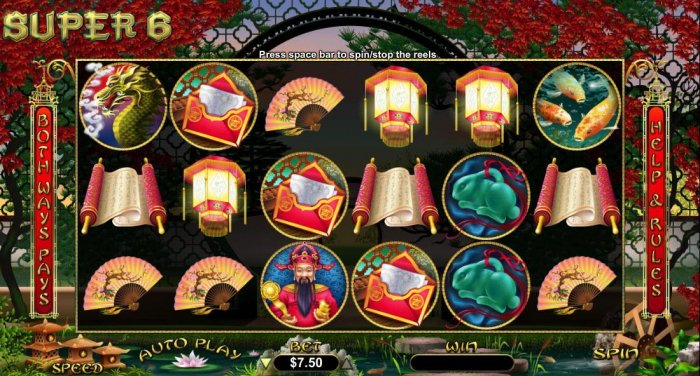 Super 6 by All Online Pokies