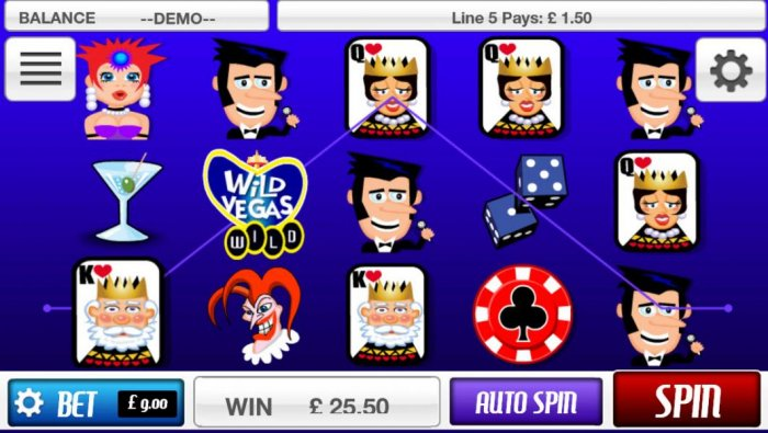 All Online Pokies - a pair of winning paylines
