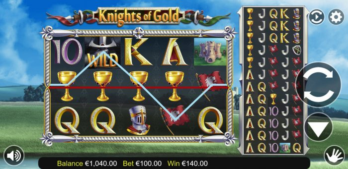 knights of Gold by All Online Pokies