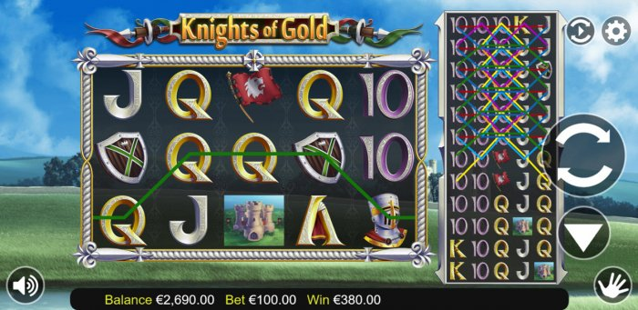 Images of knights of Gold