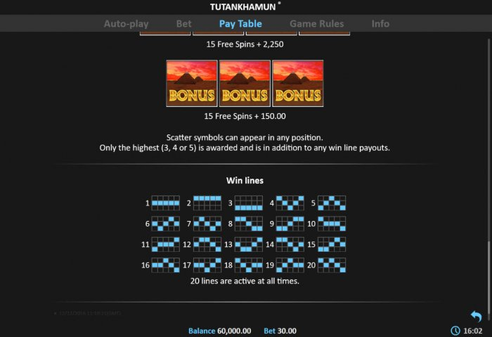 Images of Tutankhamun Deluxe