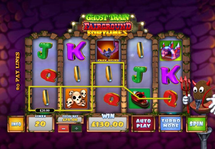Ghost Train Fairground Fortunes screenshot