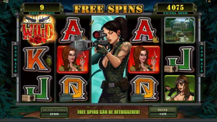 All Online Pokies - expanded wild during free spins triggers 1435 coin jackpot