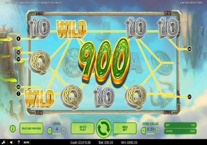 All Online Pokies image of Bob The Epic Viking Quest for the Sword of Tullemutt