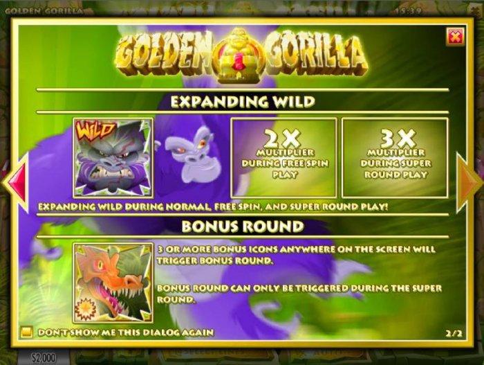 All Online Pokies image of Golden Gorilla