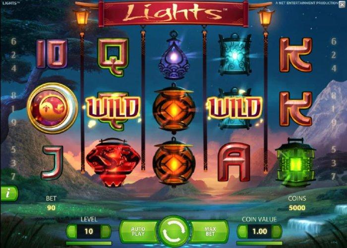 All Online Pokies image of Lights