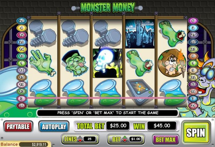 Images of Monster Money