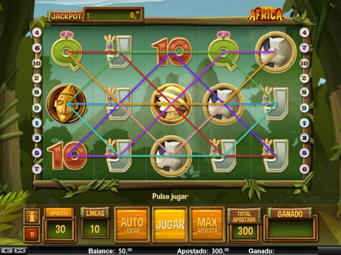 Main Game Board - All Online Pokies