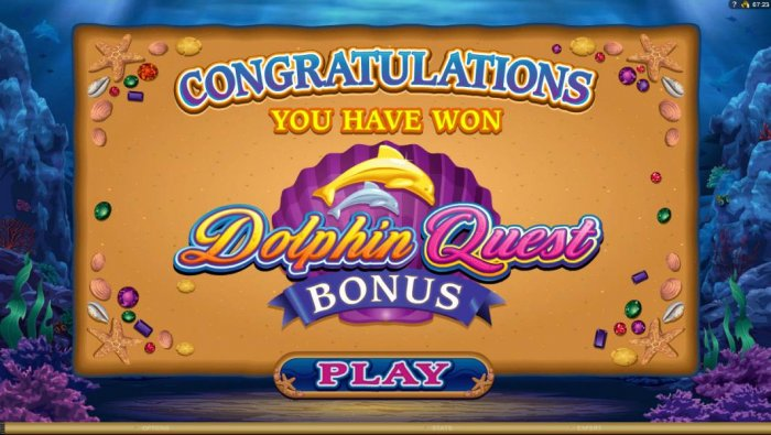 Dolphin Quest screenshot
