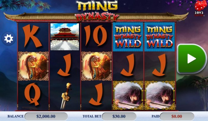 Ming Dynasty by All Online Pokies
