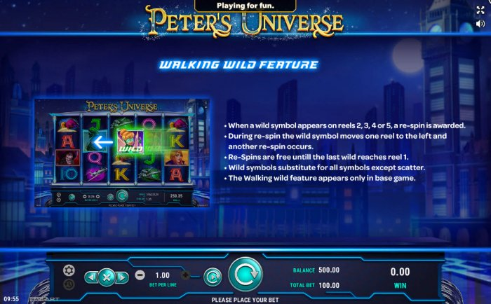 Peter's Universe by All Online Pokies