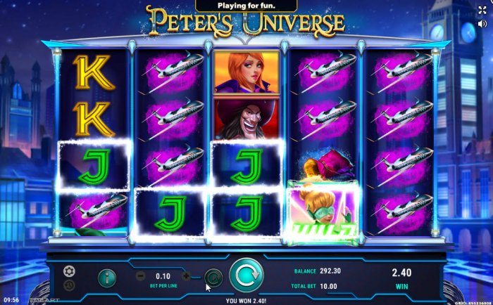 All Online Pokies image of Peter's Universe