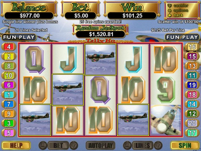 Tally Ho by All Online Pokies