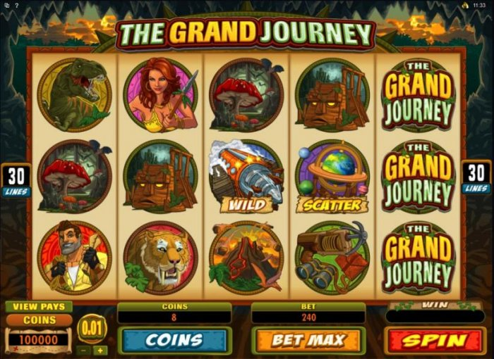 All Online Pokies image of The Grand Journey