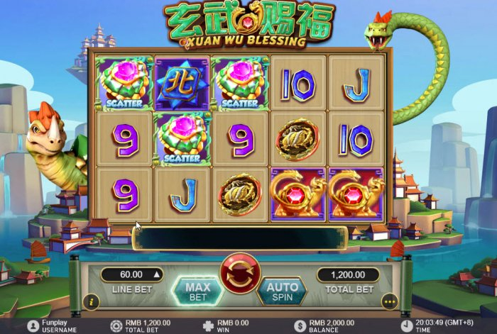 All Online Pokies image of Xuan Wu Blessing