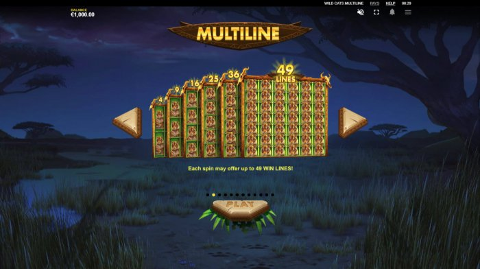 All Online Pokies - Multiline