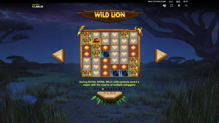 Wild Cats Multiline by All Online Pokies