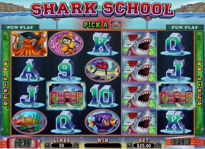 Shark School screenshot