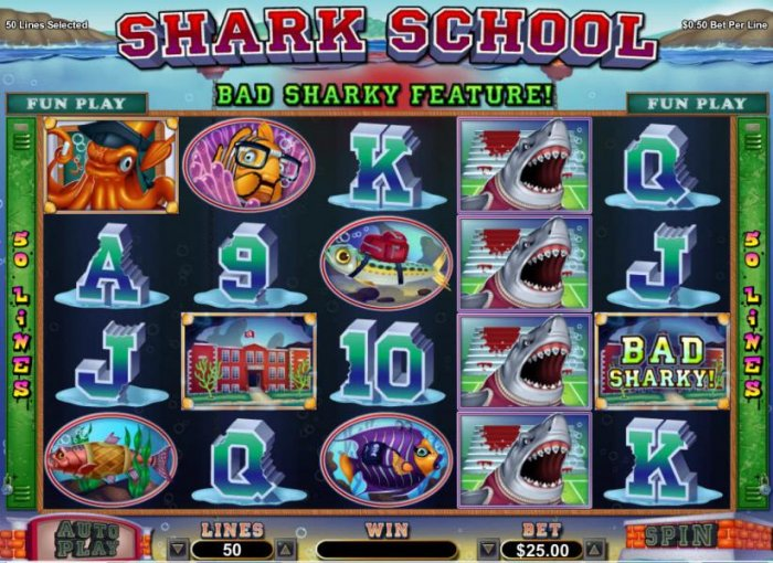 Shark School by All Online Pokies