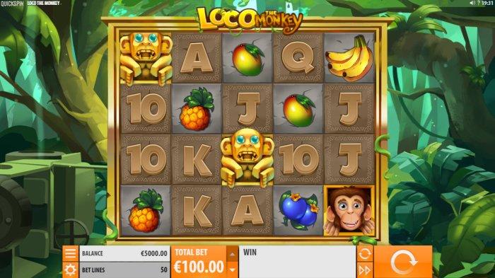 All Online Pokies - Main Game Board