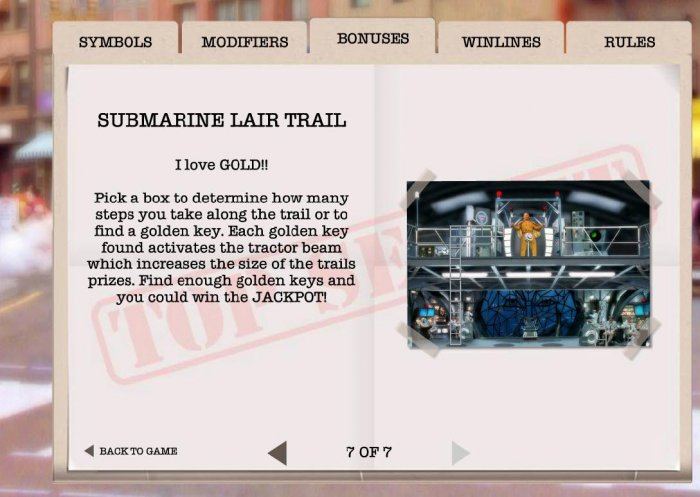 Submarine Lait Trail by All Online Pokies