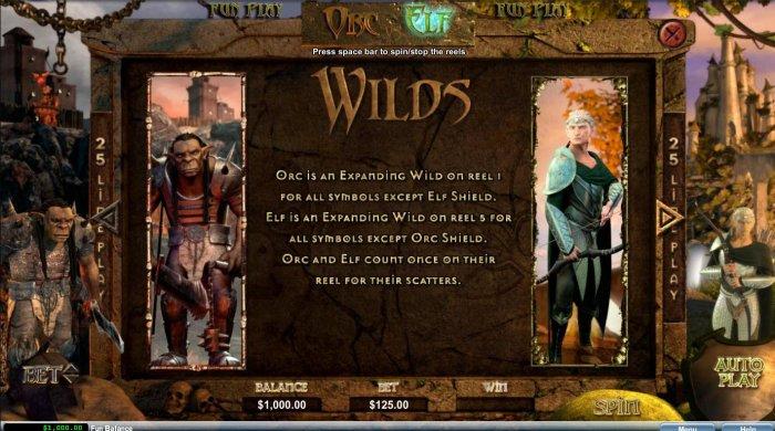 Orc vs Elf by All Online Pokies