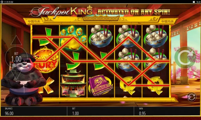 Paws of Fury by All Online Pokies